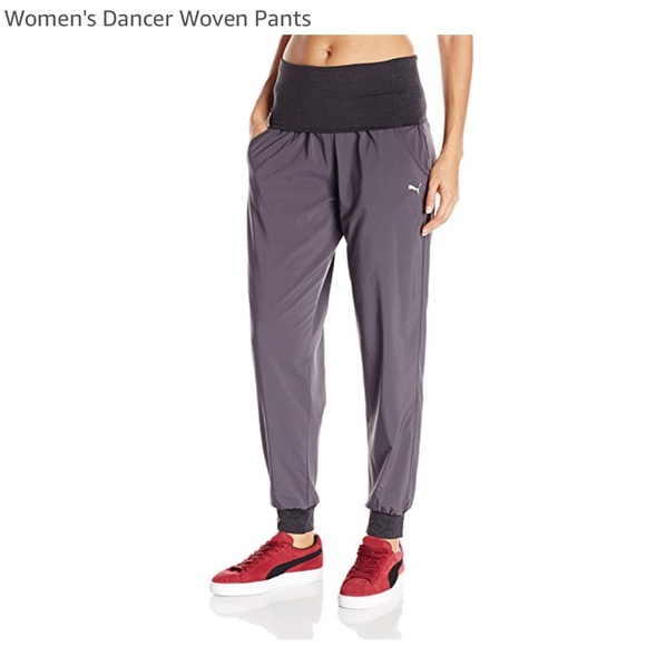 Puma Pants - PUMA women's XL Dancer Woven Pants